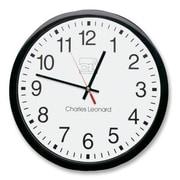 CHARLES LEONARD, INC 12'' Wall Clock
