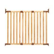 KidCo Angle Mount Wood Safeway Gate; Classic Oak