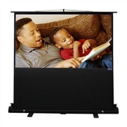 Vutec Porta-Vu Riser Matte White 68'' Diagonal Portable Projection Screen