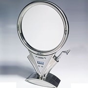 Zadro Z'Fogless Power Zoom Lighted Mirror; Stainless Steel