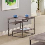 Wildon Home   End Table; Dark Grey