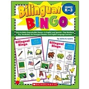 Scholastic Bilingual Bingo Book
