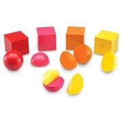 Learning Resources Magnetic 3-D Fraction Shapes