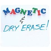 Flipside Dry Erase Magnetic Lap Board Whiteboard, 1' x 1'