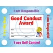 Hayes School Publishing Good Conduct Certificate/Reward Seals