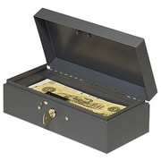 MMF INDUSTRIES Steelmaster Cash Box with Lock