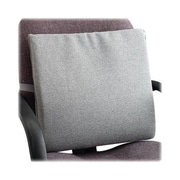 MASTER CASTER COMPANY Seat/Back Cushion with Elastic Strap; Neutral Gray