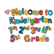 Creative Teaching Press Welcome To Kindergarten 1st 2nd 3rd Cut Out