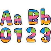 Creative Teaching Press Poppin Playful Patterns Letters and Numbers