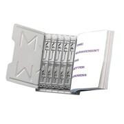 Master Catalog Starter Sets,45-Degree Angle,25'' Width,12'' Cap, Gray