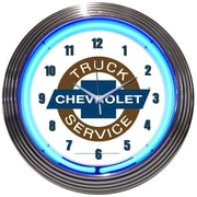 Neonetics Cars and Motorcycles 15'' Chevy Truck Wall Clock