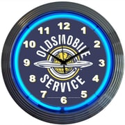 Neonetics Cars and Motorcycles 15'' Oldsmobile Service Wall Clock
