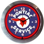 Neonetics Cars and Motorcycles 15'' Pontiac Service Wall Clock
