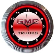 Neonetics Bar and Game Room 15'' RGMC Trucks Wall Clock