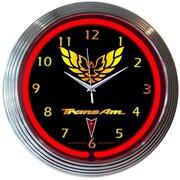 Neonetics 15'' Trans Am Wall Clock