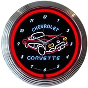 Neonetics 15'' Corvette C1 Wall Clock