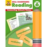 Evan-Moor Skills Sharpeners Reading Grade 6 Book