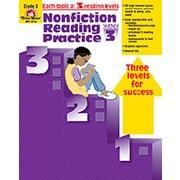 Evan-Moor Nonfiction Reading Practice Grade 3 Book
