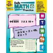 Evan-Moor Daily Math Practice Grade 5 Book
