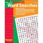 Edupress Spanish in a Flash Word Searches 3 Book