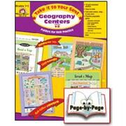 Evan-Moor Geography Centers Grade 1-2 Book