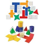 Learning Resources 32 Piece Folding Geometric Shapes  set