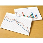 Learning Resources Math Graphs Wipe Desk Mat Chart (Set of 30)