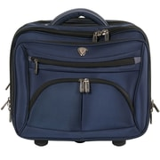 CalPak CEO Laptop Briefcase; Navy Blue