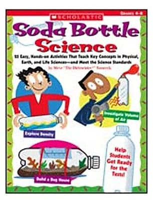 Scholastic Soda Bottle Science Book WYF078276553511