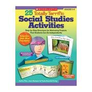 Scholastic 25 Totally Terrific Social Studies Book
