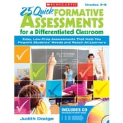 Scholastic 25 Quick Formative Assessments CD