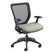 Nightingale Chairs WXO Series Mid-Back Mesh Desk Chair; Mystic Gray
