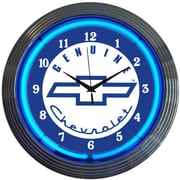 Neonetics Cars and Motorcycles 15'' Genuine Chevrolet Wall Clock