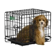 Midwest Homes For Pets iCrate Double Door Pet Crate; XX Small (14'' H x 12'' W x 18'' L)