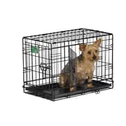 Midwest Homes For Pets iCrate Double Door Pet Crate; X Small (16'' H x 13'' W x 22'' L)