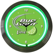 Neonetics Drinks 15'' Bud Light Wall Clock