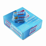 CLOROX S.O.S All-Surface Scrubbing Sponge, 3 x 5-1/4, 1 Thick, 3 Sponges/pack