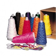 Pacon Creative Products Trai-Tex Double Weight Yarn Cones, 2-oz., 12 Assorted Color Cones per Carton