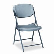 Iceberg Enterprises Rough 'n' Ready Mid-Back Polyethylene Folding Office Chair; Charcoal