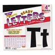 TREND ARGUS Ready Letters Playful Combo Set, Black, 4''h, 216/Set; Red