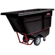 Rubbermaid Commercial Products Tilt Truck Utility Cart; 1 Cubic Yard Standard Duty Capacity