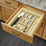 Rev-A-Shelf Large Cutlery Organizer; Almond