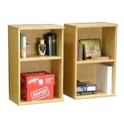 Rush Furniture Heirloom 30'' Standard Bookcase (Set of 2)