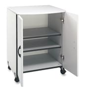 Buddy Products Machine Printer Stand with 2 Doors