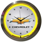 Neonetics 15'' Gm Chevrolet Wall Clock