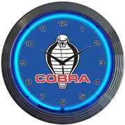Neonetics 15'' Ford Cobra Wall Clock
