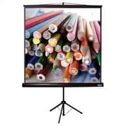 Vutec Matte Black Portable Projection Screen; 96'' H x 96'' W