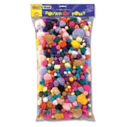 Chenille Kraft Pound of Poms, Assorted Size and Color