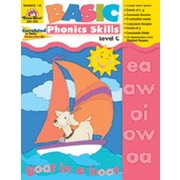 Evan-Moor Basic Phonics Skills Level C Book