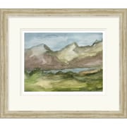 Surya Plein Air Landscape II by Vision Studio Framed Graphic Art